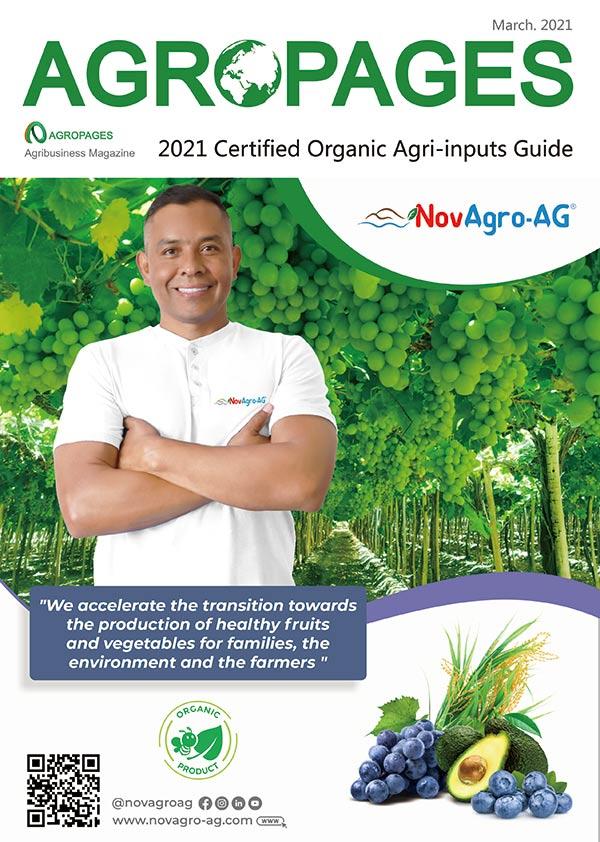 2021 Certified Organic Agri-inputs Guide