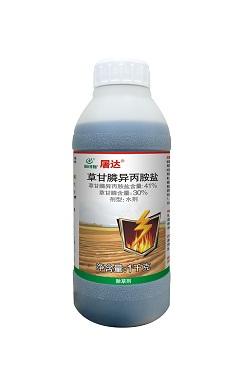 屠达——41%草甘膦异丙胺盐水剂