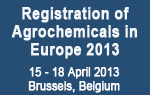 Registration of Agrochemicals in Europe 2013