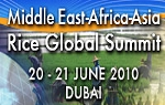 2nd Middle East-Africa-Asia Rice Summit 2010