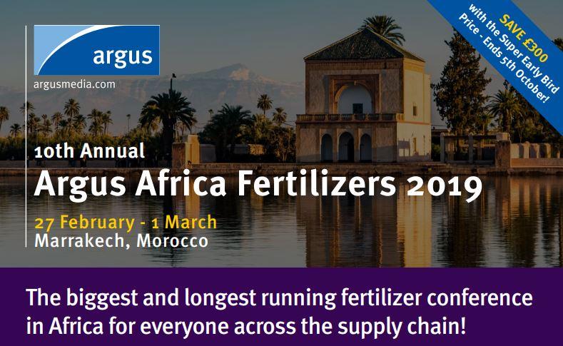Events - Argus Africa Fertilizer 2019
