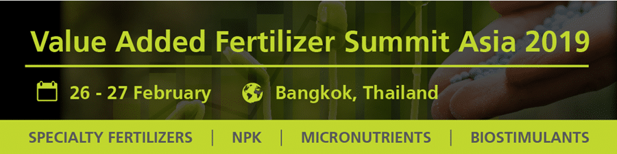 Events - Value Added Fertilizer Summit Asia 2019