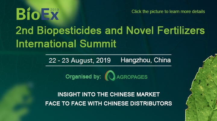 Insight into microalgae-based biostimulants - Douglas Wagner, CEO at AlgaEnergy N.A., will speak on one of the largest biopesticide and novel fertilizer conferences in China