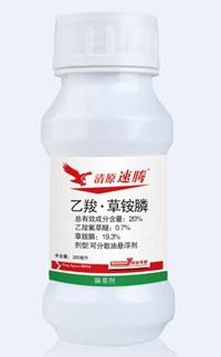 """""""清原速腾""""——高效解决百草枯、草甘膦抗性杂草!"""