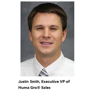 Huma Gro® Sales named Justin Smith Executive Vice President