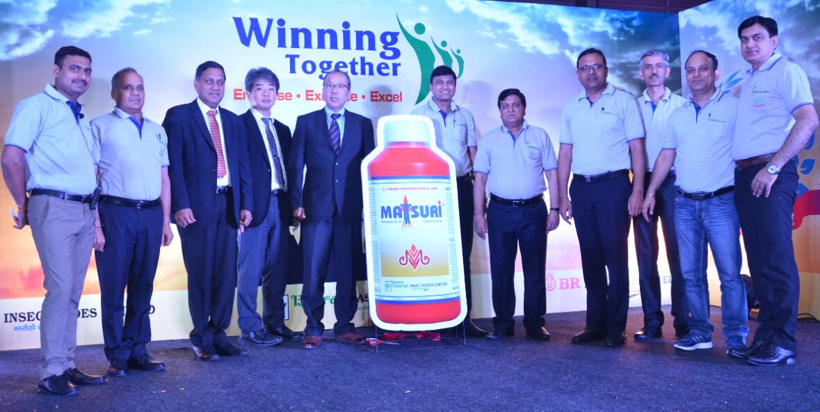 Bharat Insecticides Ltd launches Matsuri for Sheath Blight in Rice