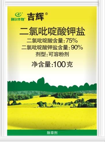 吉辉® 75%二氯吡啶酸可溶粉剂