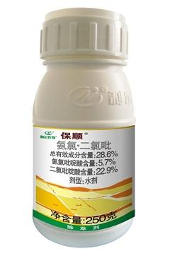 保顺®  高效防治春油菜灰藜