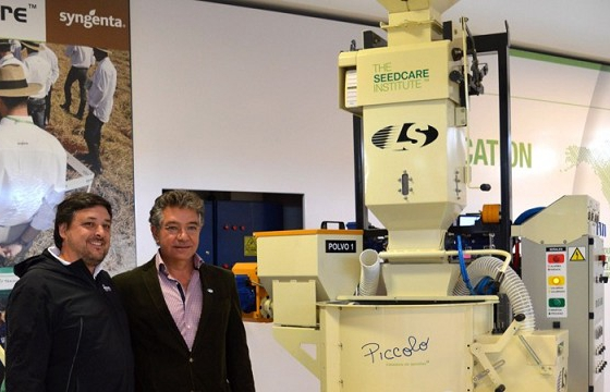 Syngenta, LS Electronicamecánica develop machine for seed treatment in Argentina