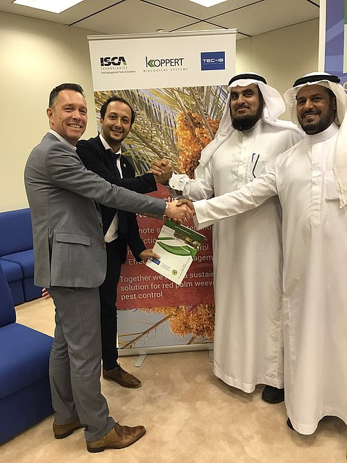 Koppert and King Saud University sign research agreement