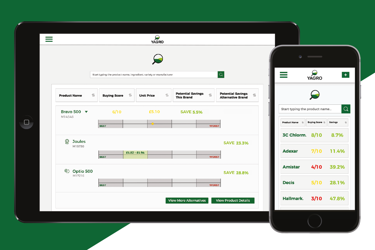 Yagro launched pesticide price comparison tool