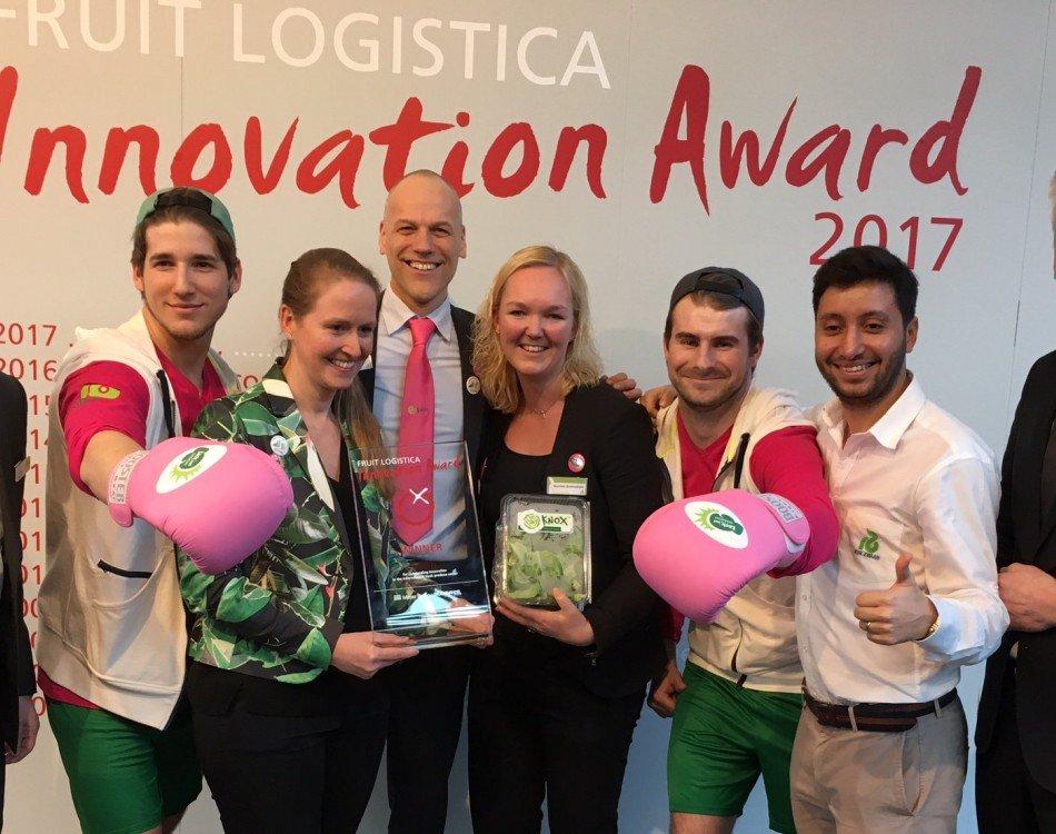 Rijk Zwaan Knox™ wins Fruit Logistica Innovation Award 2017