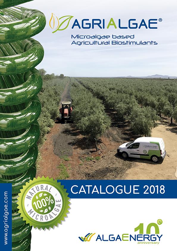 AlgaEnergy presents its new catalogue for AgriAlgae®