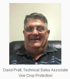 David Pratt joins Vive Crop Protection as Technical Sales Associate