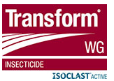 U.S. granted Section 18 Emergency Exemption for Transform® WG insecticide in North Carolina