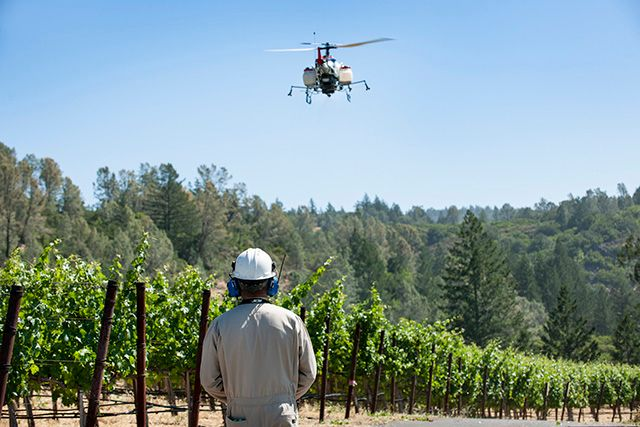 Yamaha's second helicopter drone for agricultural applications approved by FAA