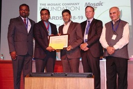 Mosaic Company Foundation Award Honors Outstanding Research in Plant Nutrition