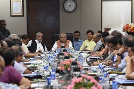 First review meeting of Agriculture and Farmers Welfare Ministry held