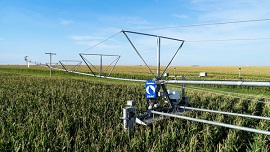 Reinke launches electronic swing arm corner to increase irrigation efficiency