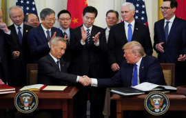 US, China to sign phase one trade agreement