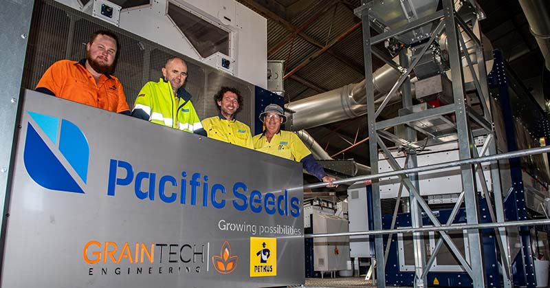 Pacific Seeds' state-of-the-art seed processing plant in Toowoomba, Australia