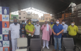 "Indogulf Cropsciences Ltd. Organizes ""Indogulf Sanitization Camps"" under ""Dr. Den Anti – COVID19 Combat Campaign"" in Haryana"