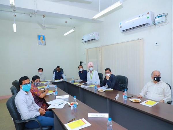 Mansukh Mandaviya visits upcoming urea unit of RFCL, reviews progress of project