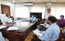 Sadananda Gowda holds review meeting with Indian CMDs of fertilisers PSUs