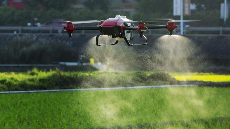 ICRISAT India receives permission to use drones for agricultural research activities
