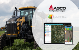 AGCO announces direct connection with Solinftec to provide AGCO customers groundbreaking operational insights