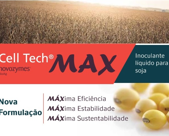Novozymes launched Cell Tech Max inoculant with 27 months stability in Brazil