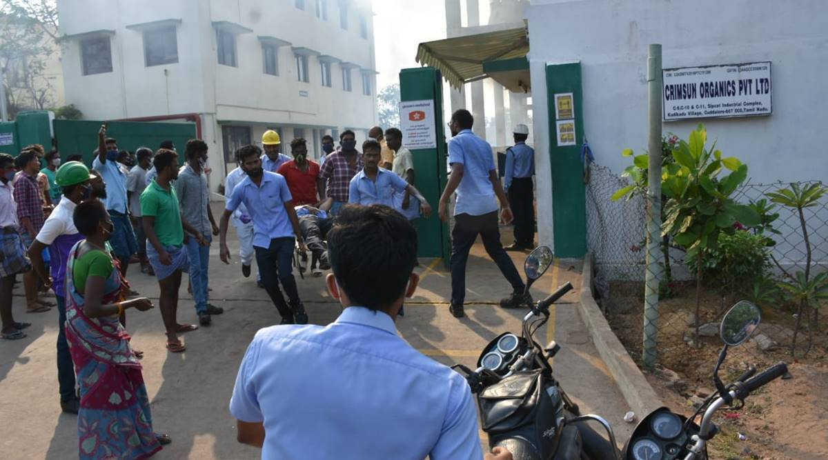 India Tamil Nadu: 4 killed in boiler blast in Cuddalore, rescue ops underway