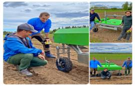 Agricultural robotics company Ekobot selected Scanfil as an industrialisation partner
