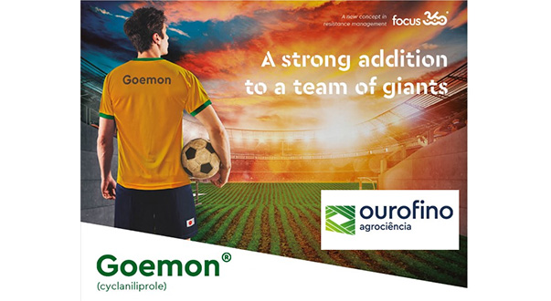 Goemon: Ourofino Agrociência presents innovative solution Against caterpillars in Brazil